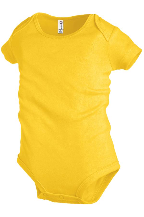 Delta Apparel 9500 - Rib Snap Infant T-shirt 5.8 oz