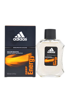 Adidas Adidas Deep Energy EDT Spray For Men 3.4 oz.