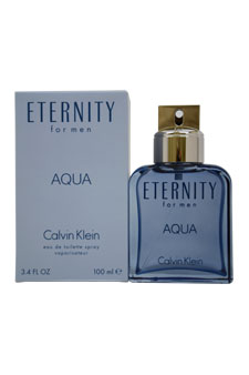 Calvin Klein Eternity Aqua EDT Spray For Men 3.4 oz....