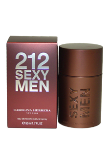 Carolina Herrera 212 Sexy Men EDT Spray For Men 1.7 ...