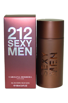 Carolina Herrera 212 Sexy Men EDT Spray For Men 3.4 ...
