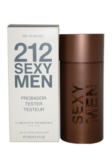 Carolina Herrera 212 Sexy Men EDT Spray (Tester) For ...