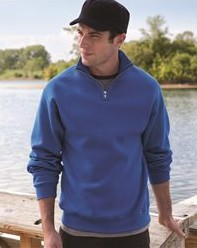 JERZEES 995MR - Nublend Cadet Collar Sweatshirt