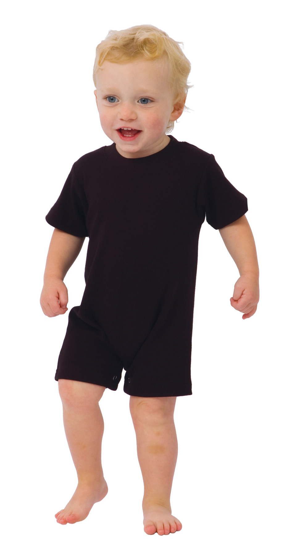 Monag 100008 - Interlock Short Sleeve Romper