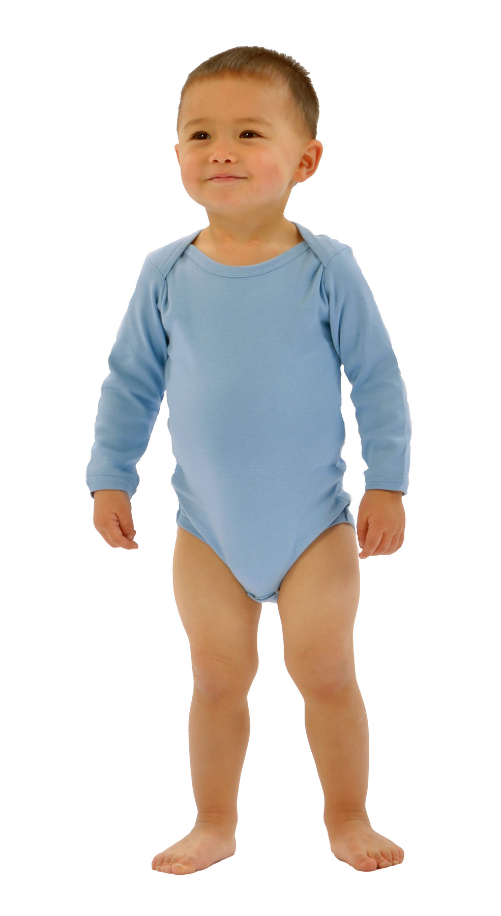Monag 100030 - Interlock Long Sleeve One-Piece
