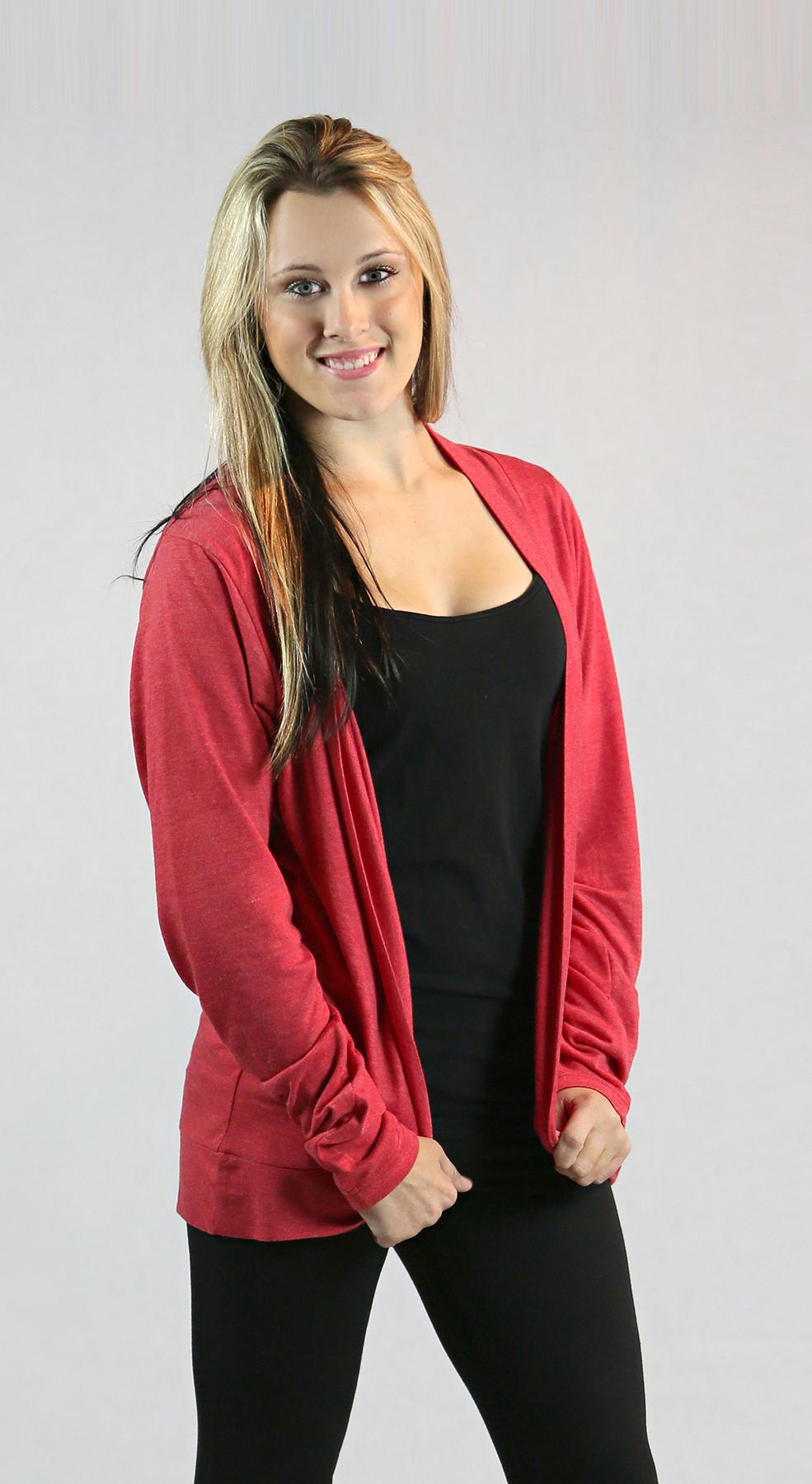 Monag 393105 - L/S Heather Wide Panel Jacket
