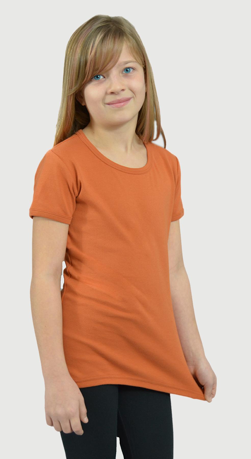 Monag 400010 - Interlock Short Sleeve Girly Tee