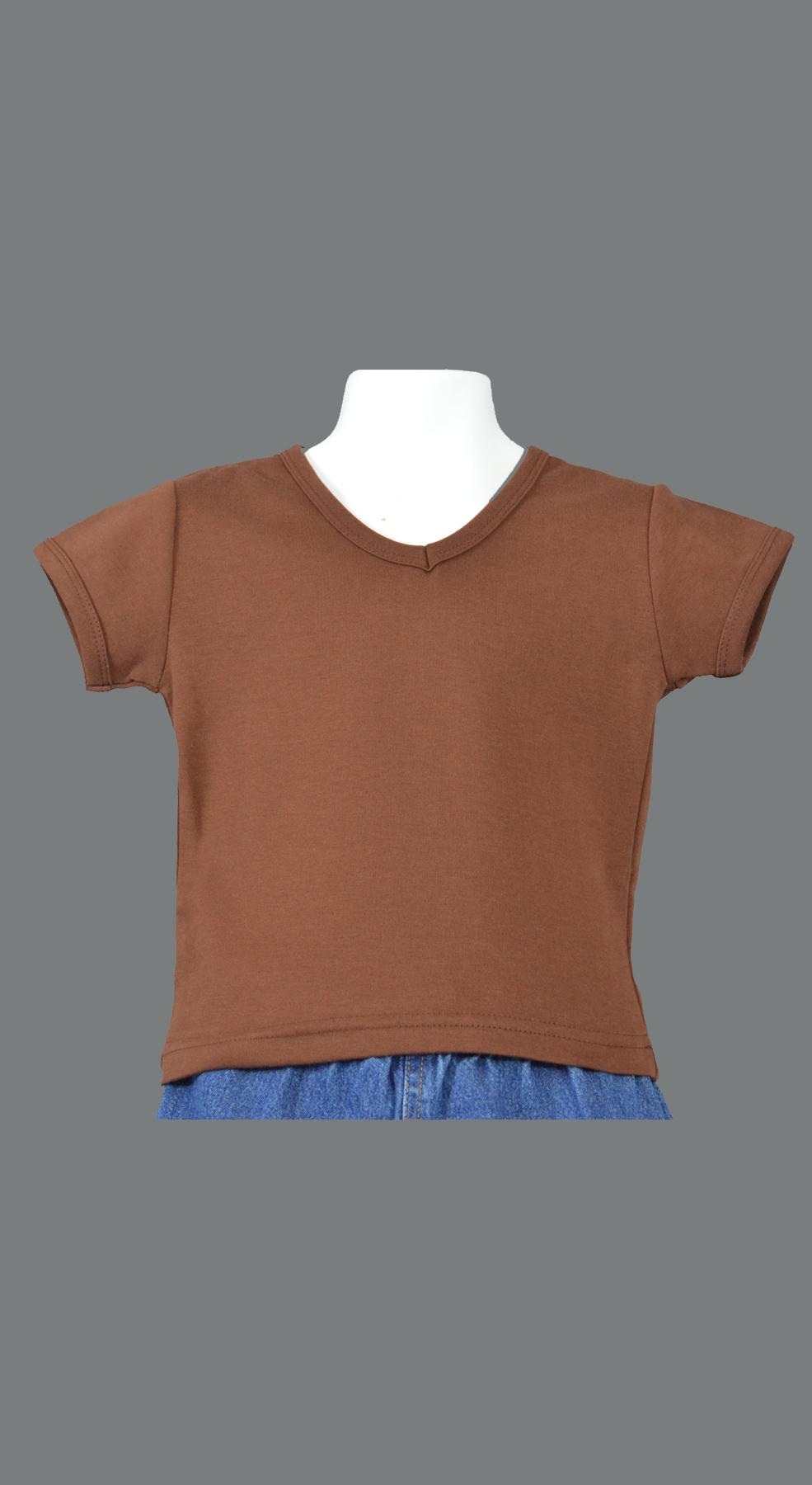 Monag 400016 - Interlock Short Sleeve V-Neck Tee