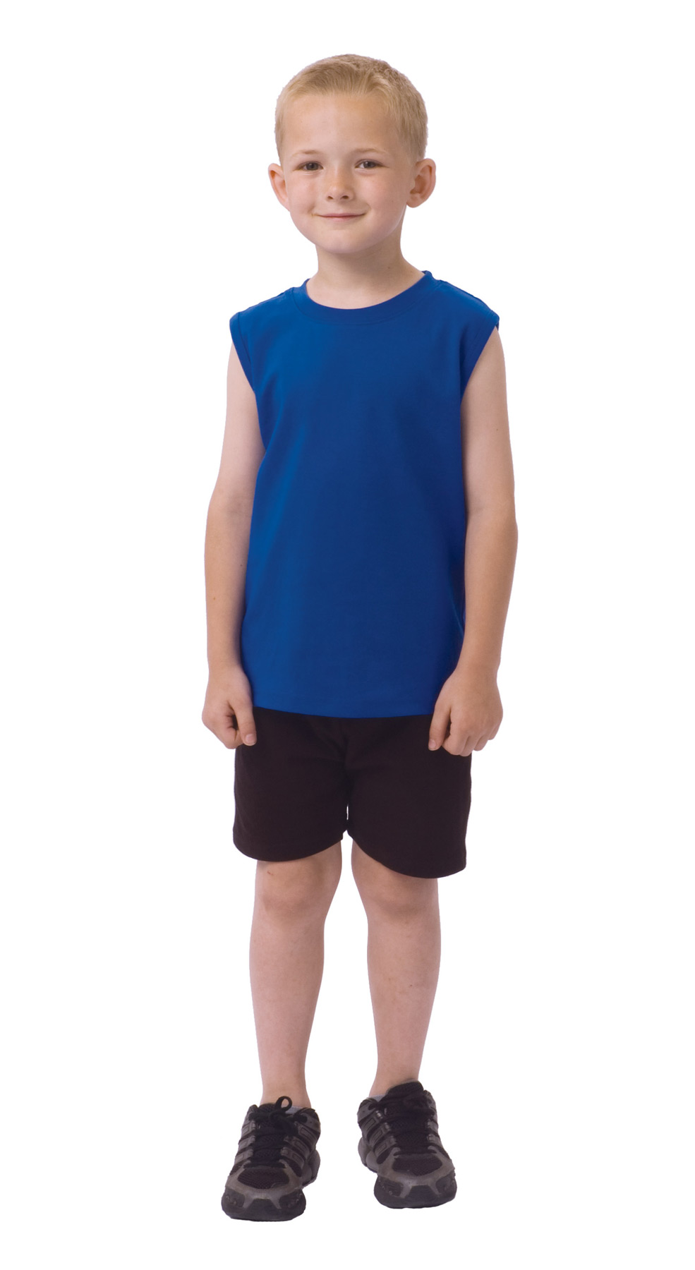 Monag 400024 - Interlock Sleeveless Tee