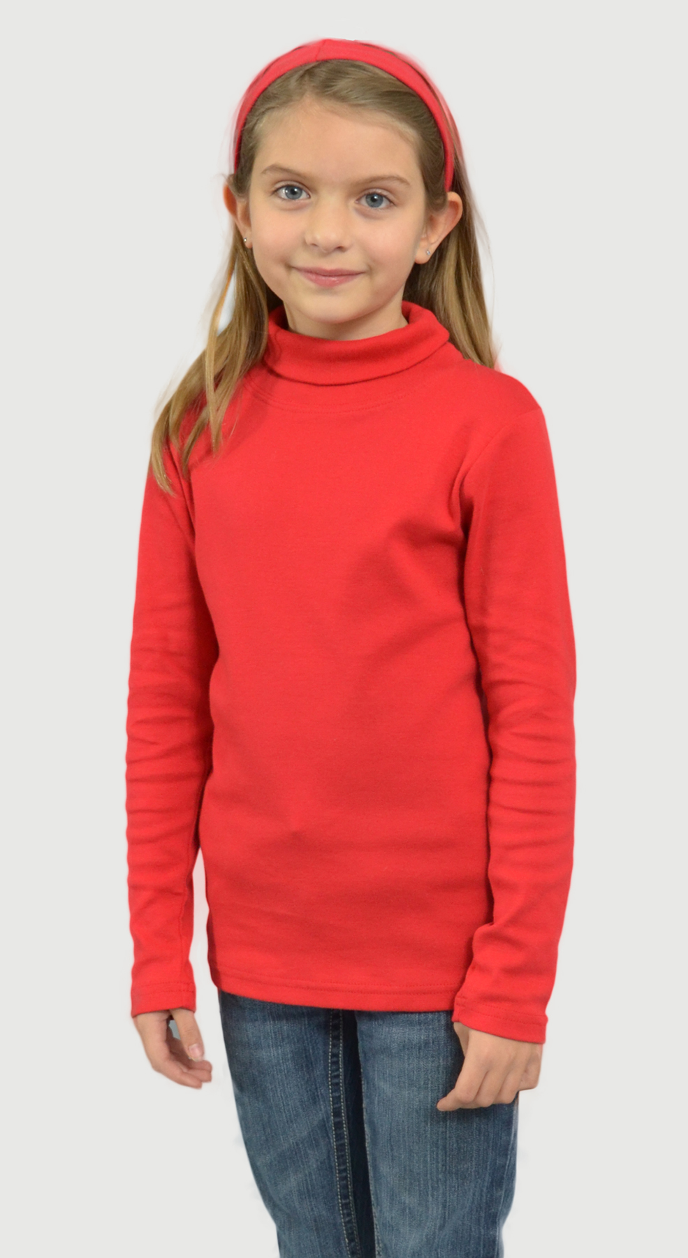 Monag 402008 - Baby Rib Long Sleeve High Neck Tee