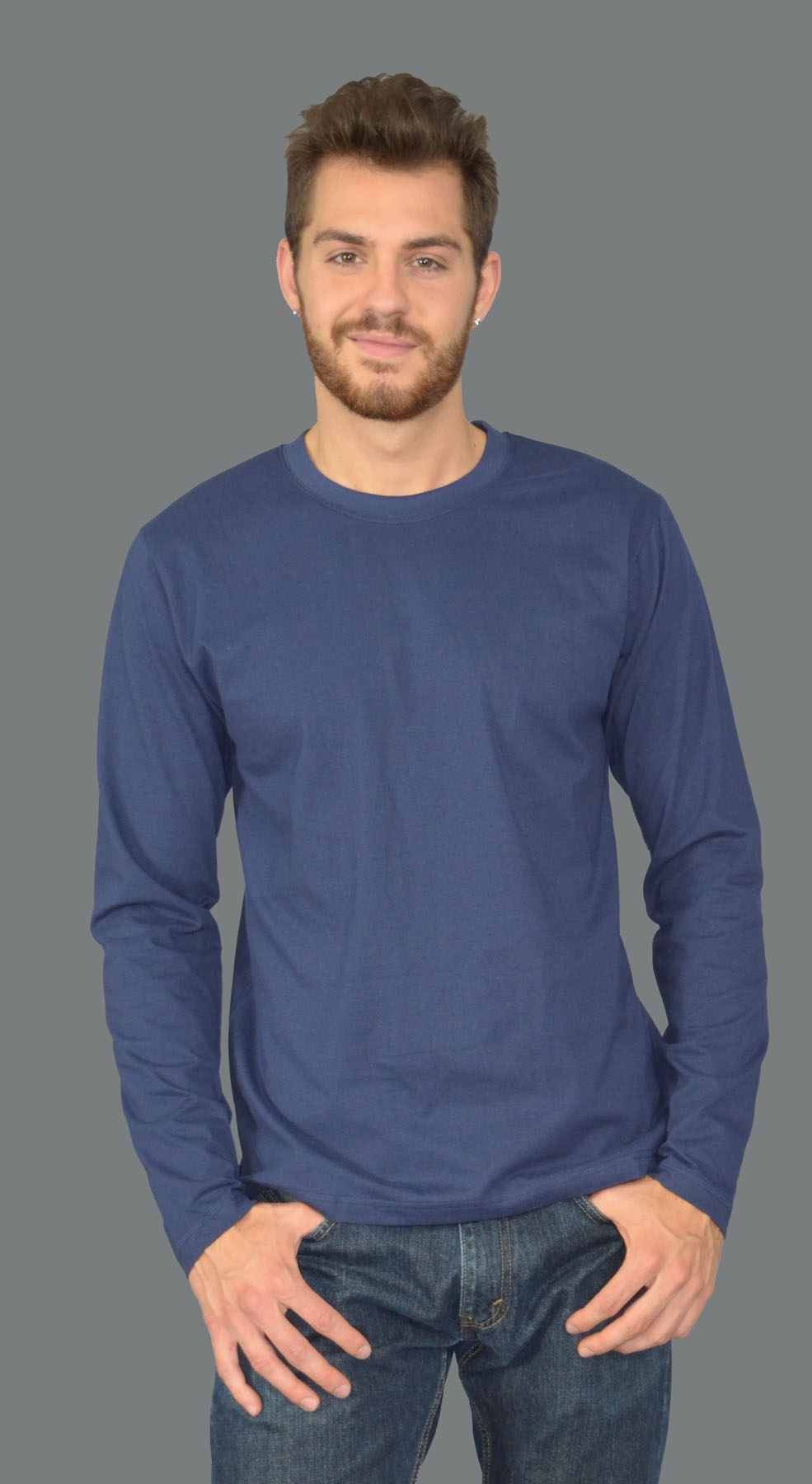 Monag 543005 - Long Sleeve Crew Neck Tee