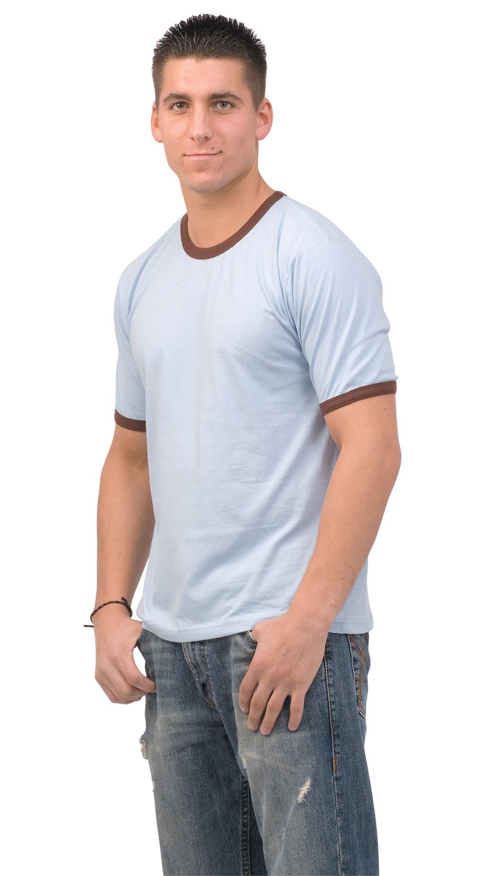 Monag 543020 - Short Sleeve Ringer Tee