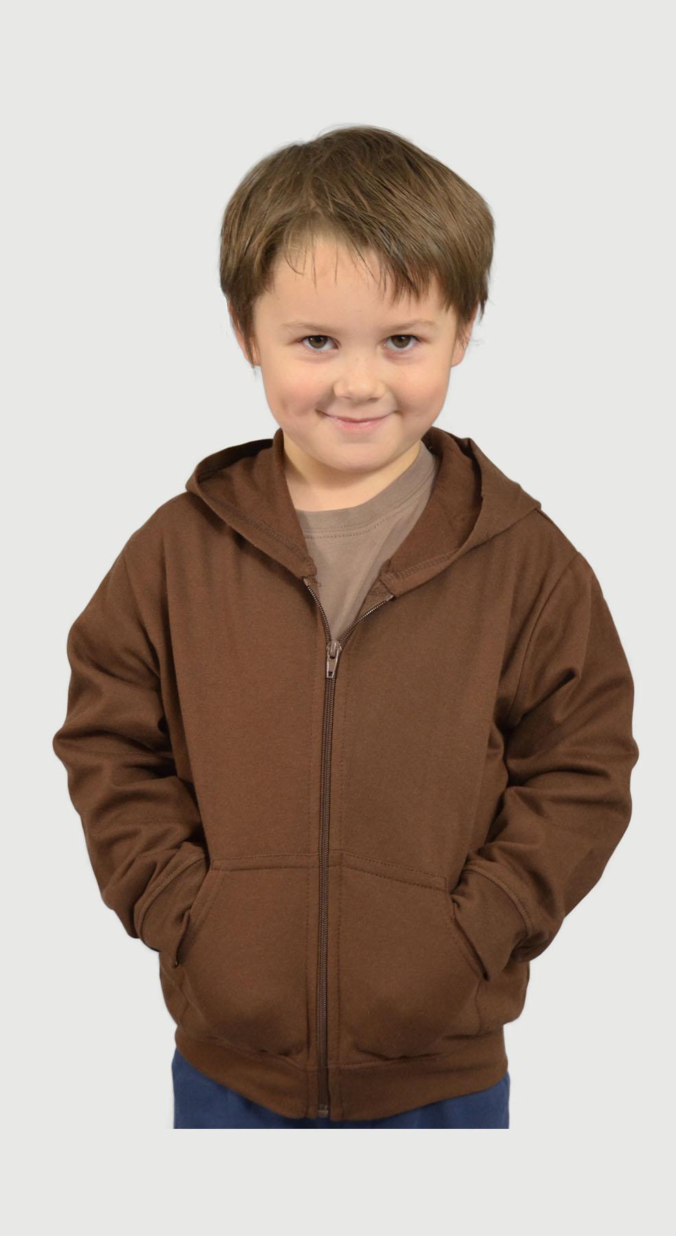 Monag 600005 - Fleece Hooded Jacket