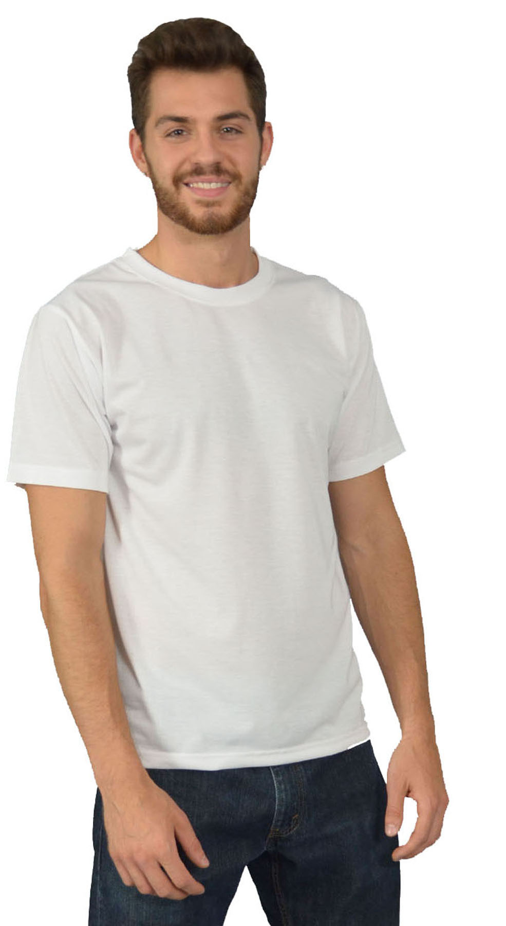 Monag 843001 - Organic Mens Short Sleeve Crew Neck Tee