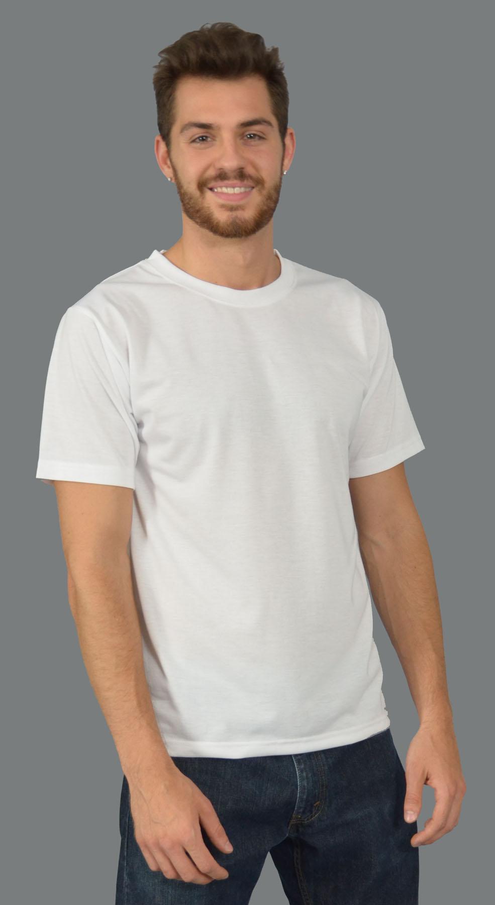 Monag 943001 - Short Sleeve Crew Neck Cotton/Poly