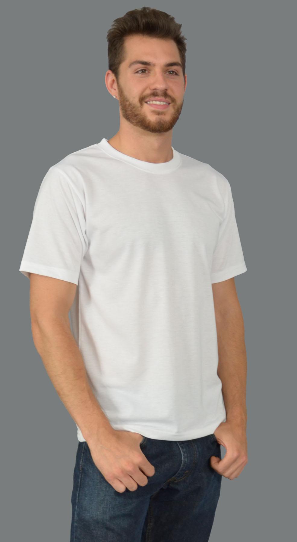 Monag 953001 - S/S Men's Crew Neck Tee 100% Polyester ...