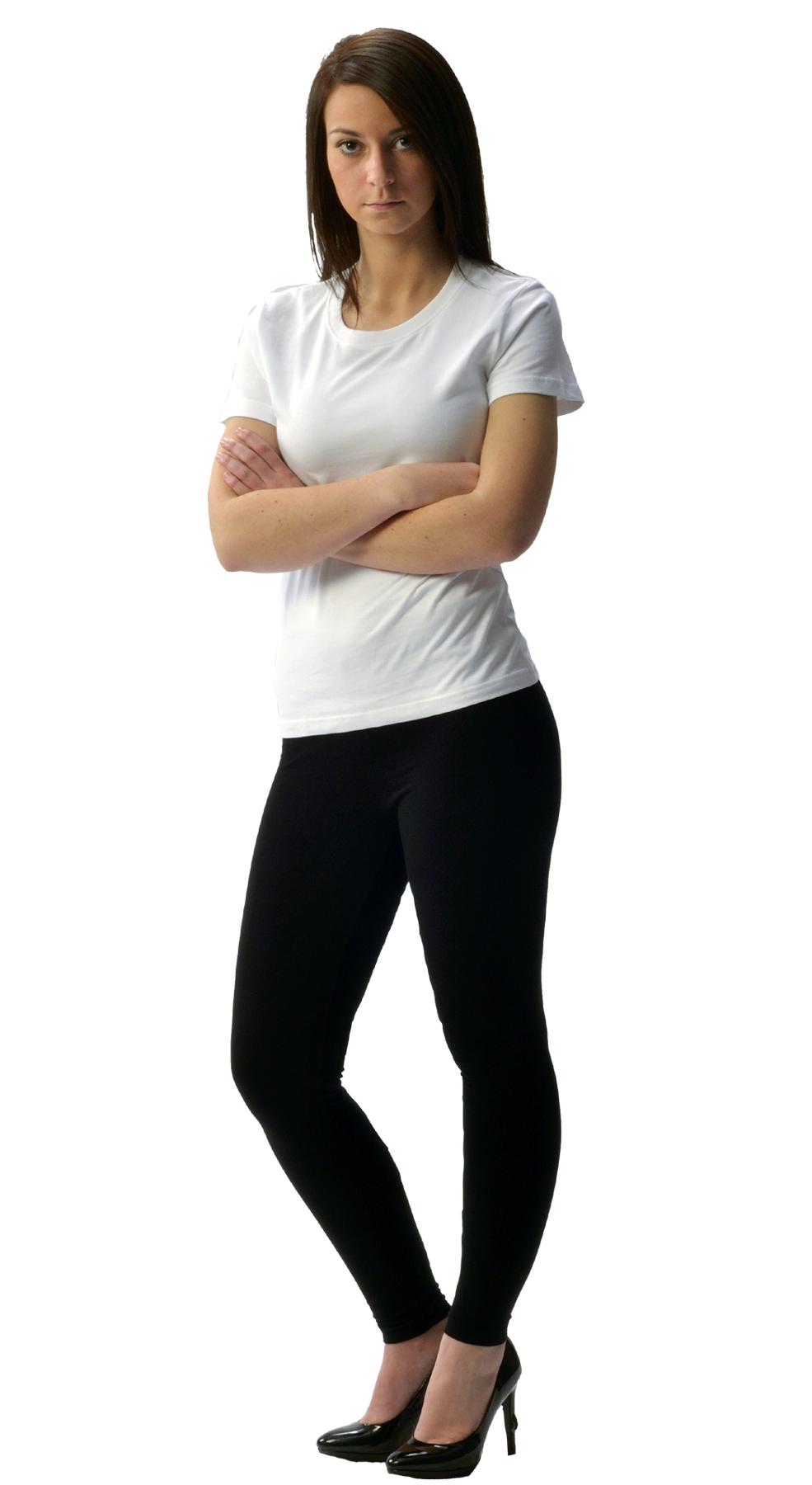 Monag 953002 - S/S Women's Crew Neck Tee 100% Polyester