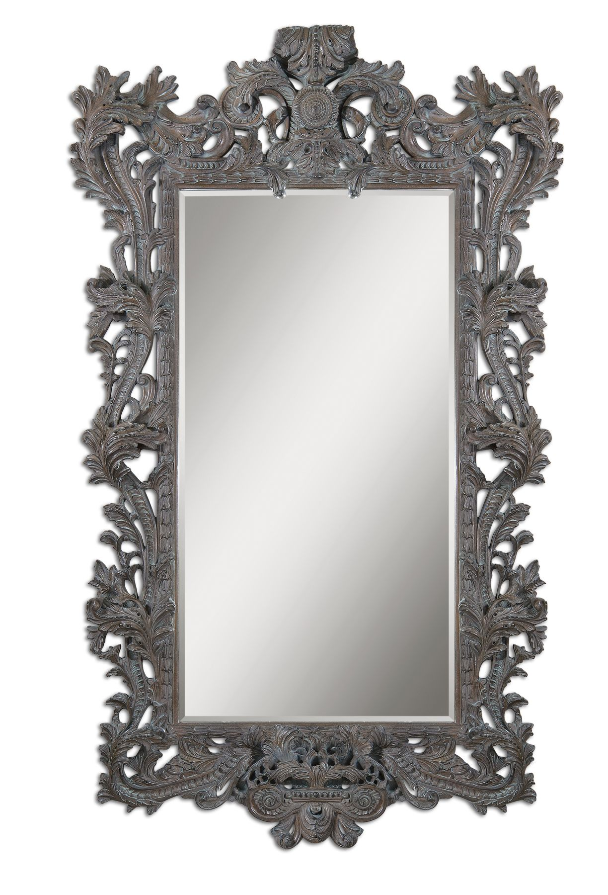 Uttermost 09515 Galeton Majestic Bronze Mirror