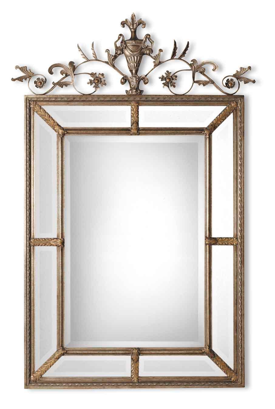 Uttermost 11201 B Le Vau Vertical Silver Mirror