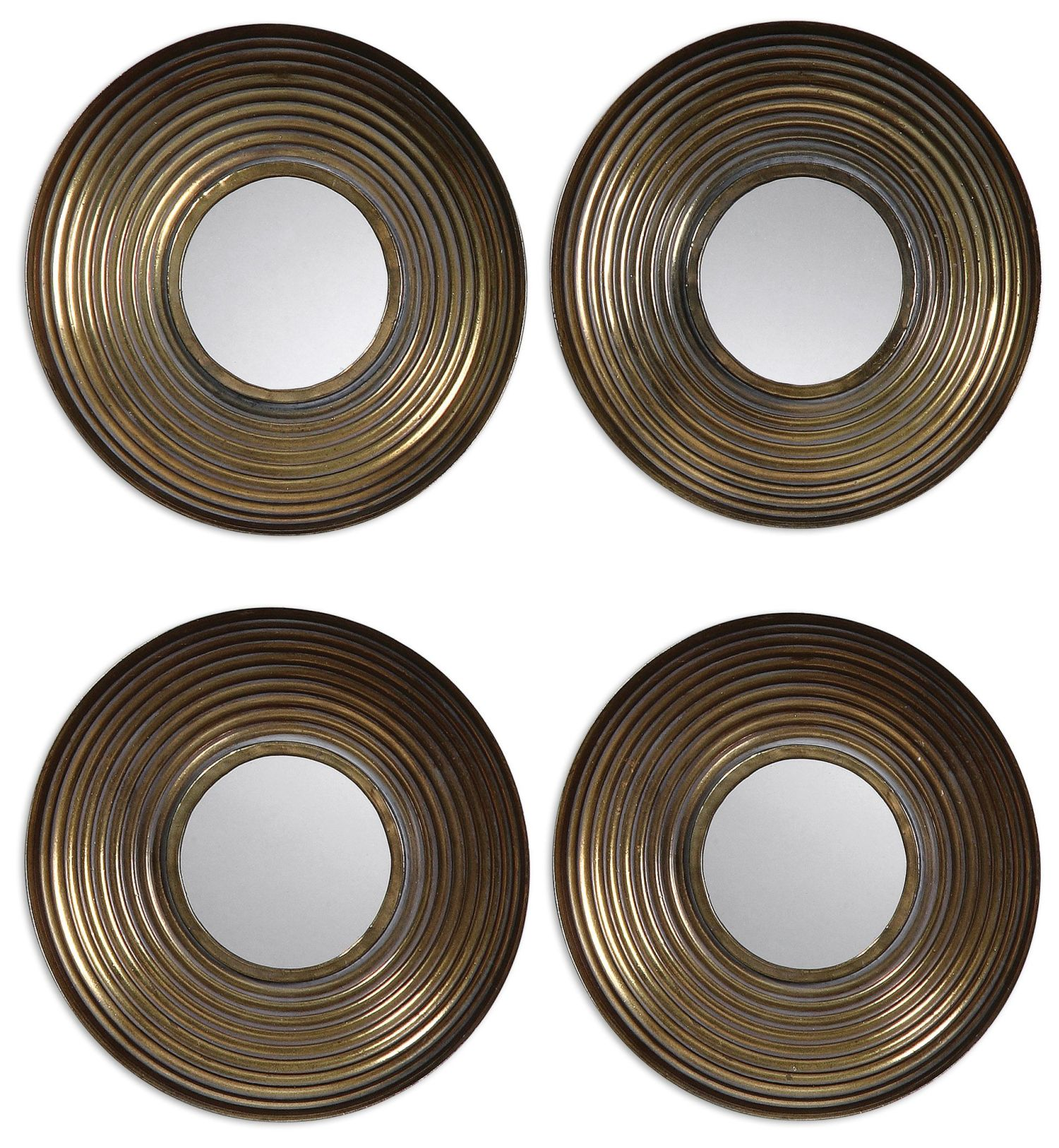 Uttermost 12858 Tondela Round Mirrors Set/4