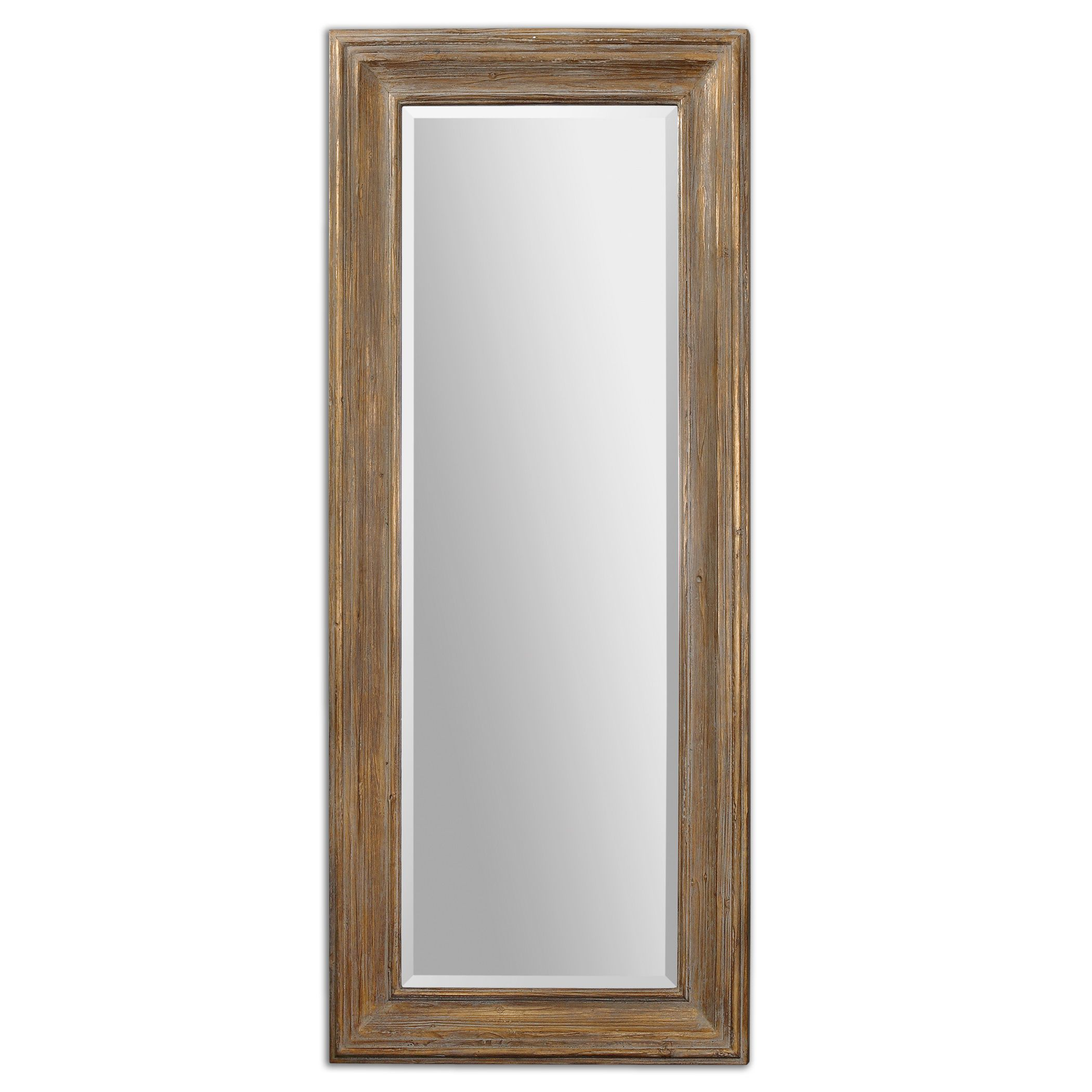 Uttermost 13849 filiano wood floor mirror for Floor mirror
