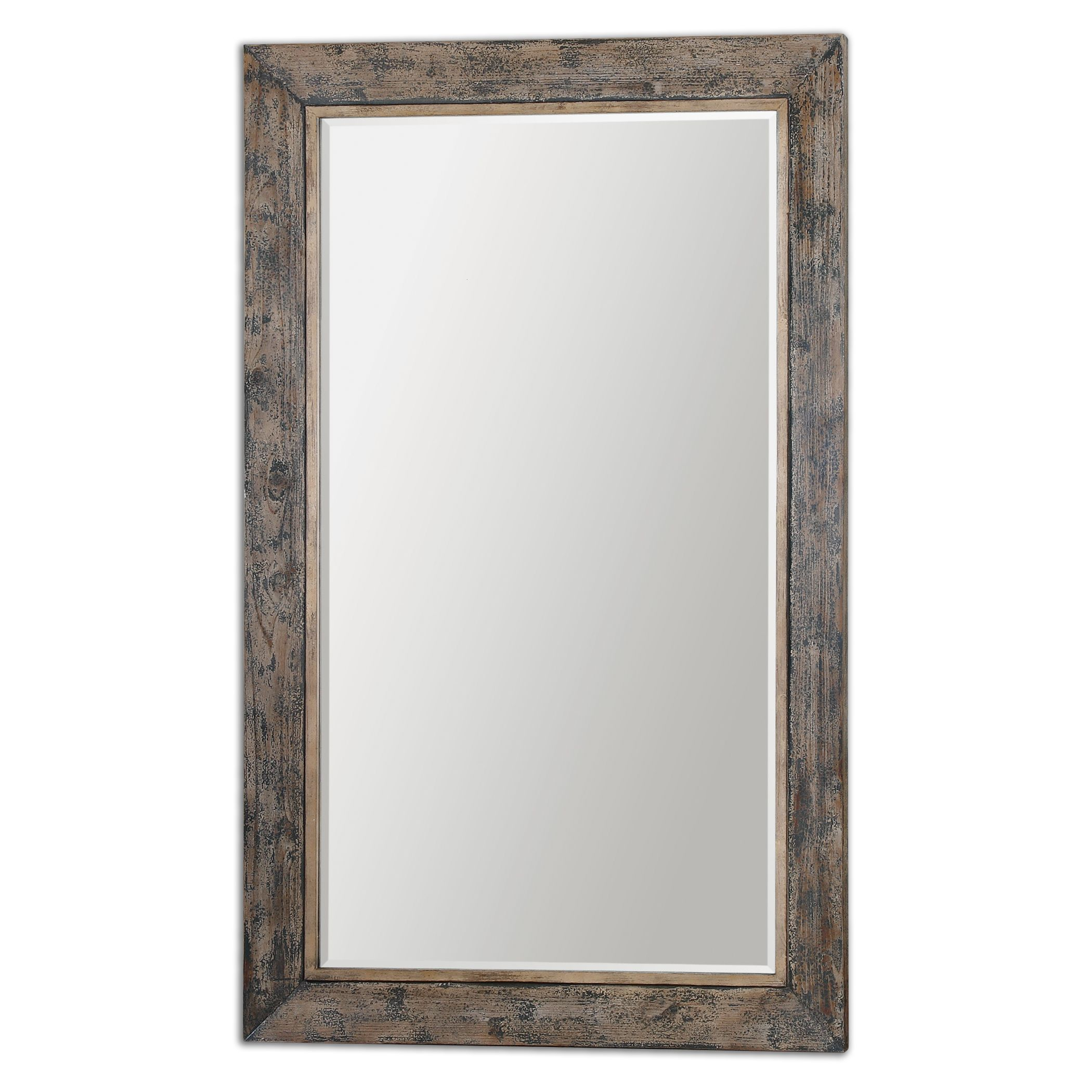 Uttermost 13851 bozeman grande floor mirror for Floor mirror