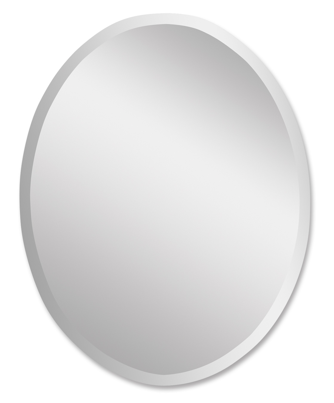 uttermost 19580 b frameless vanity oval mirror