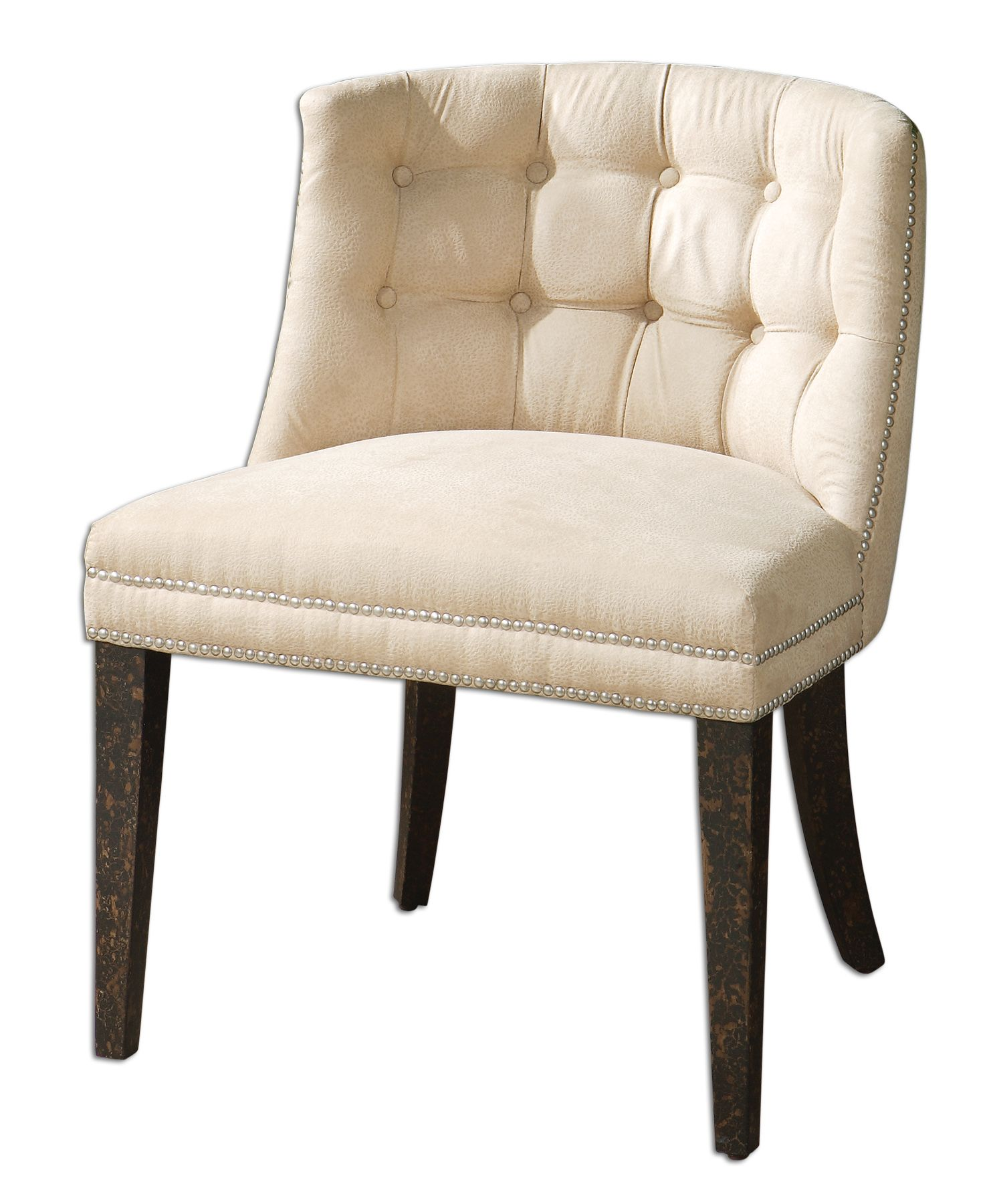 Uttermost 23049 Trixie Tufted Slipper Chair
