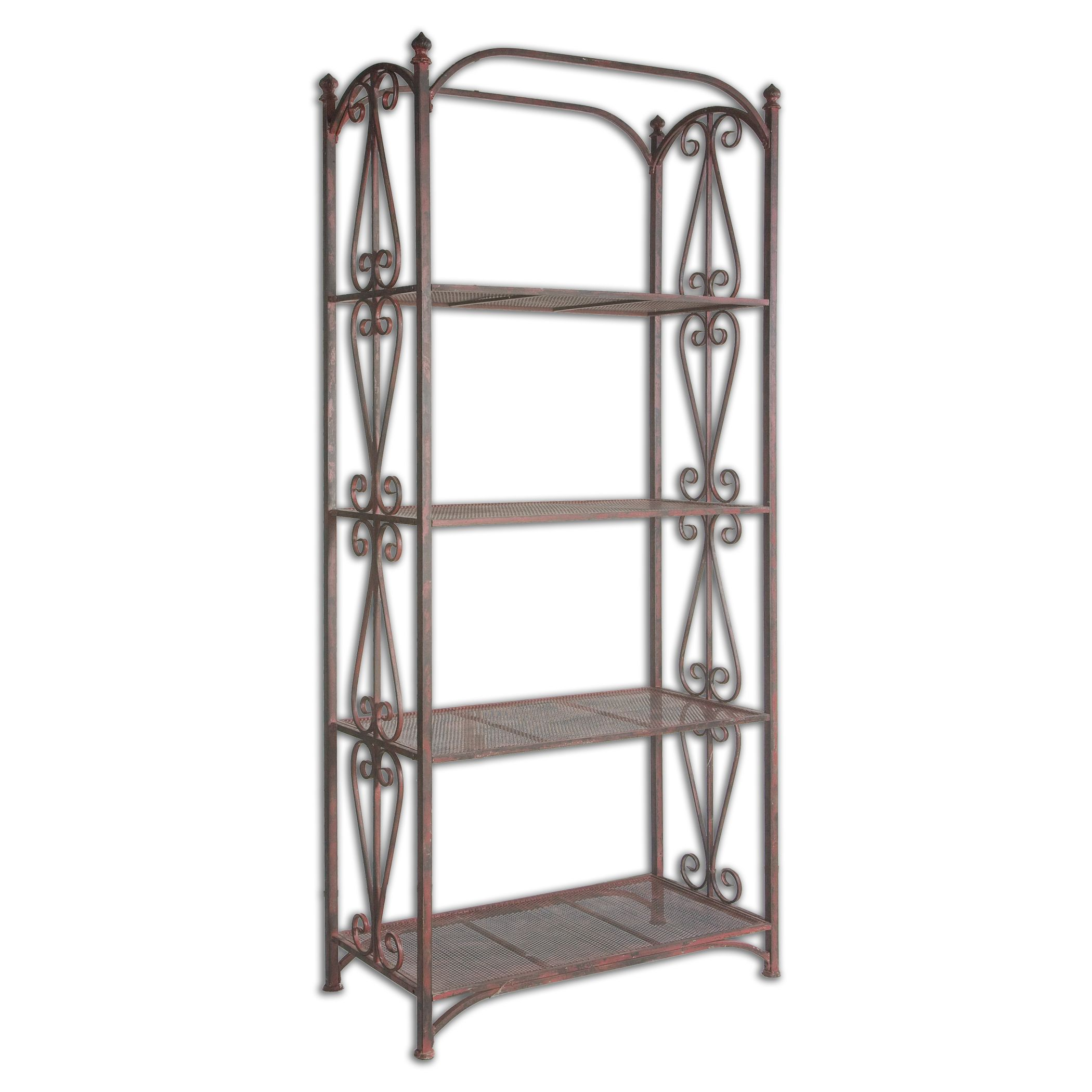 safavieh amh4130a oswald etagere benches. Black Bedroom Furniture Sets. Home Design Ideas