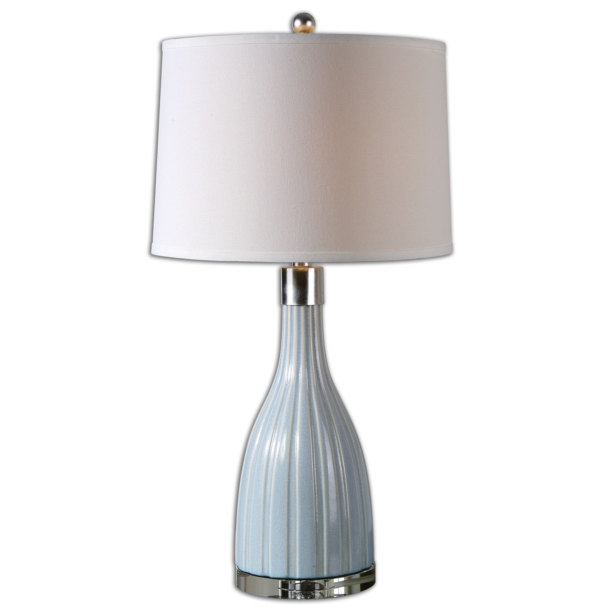 uttermost 26563 monona light blue table lamp. Black Bedroom Furniture Sets. Home Design Ideas