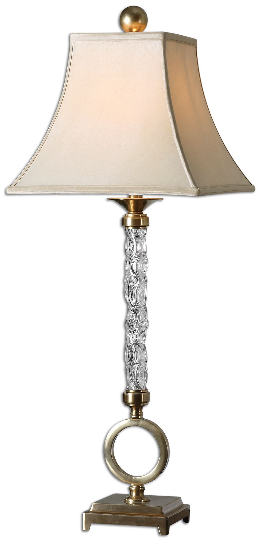 Uttermost 26858 Aversa Glass Table Lamp
