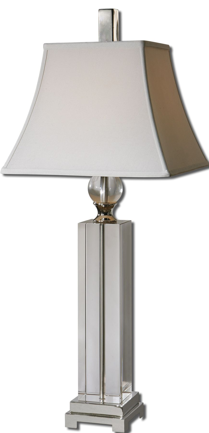 Uttermost 27438 Sapinero Crystal Table Lamp