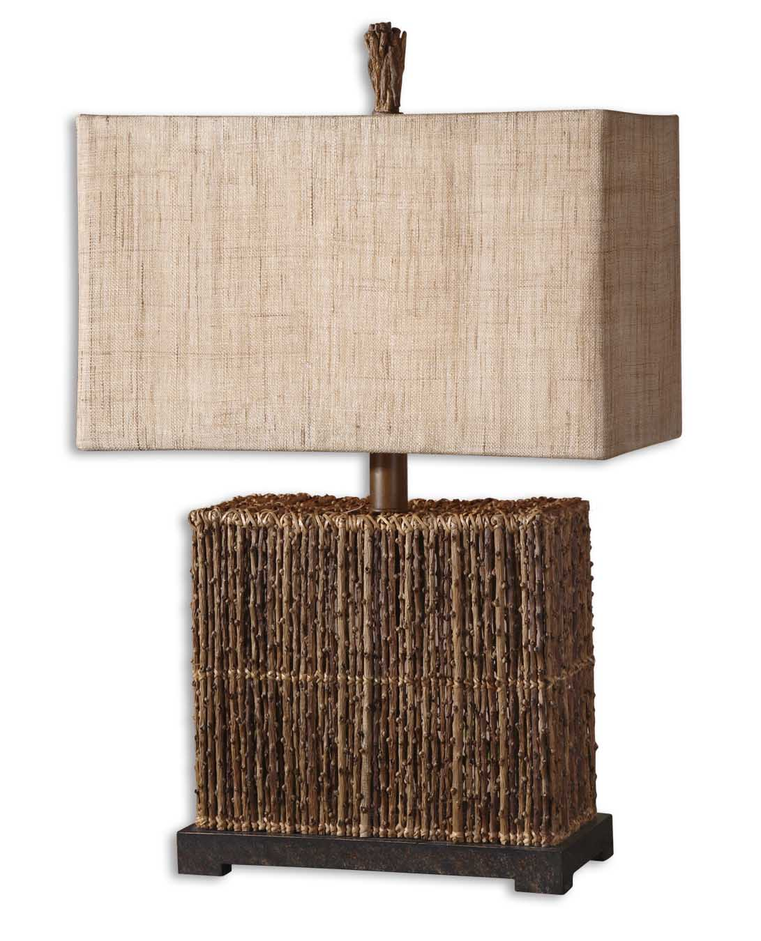 Uttermost 27994-1 Barbuda Palm Braches Table Lamp