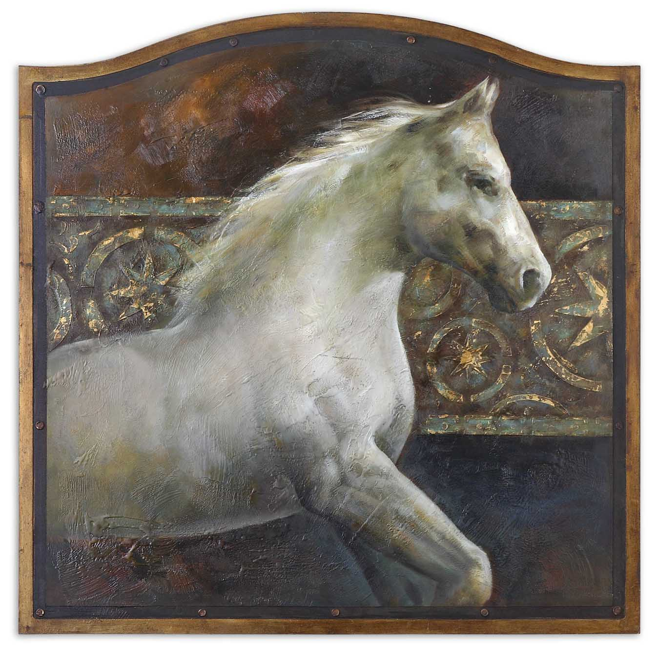 Uttermost 34236 Majestic Friend Hand Painted Art