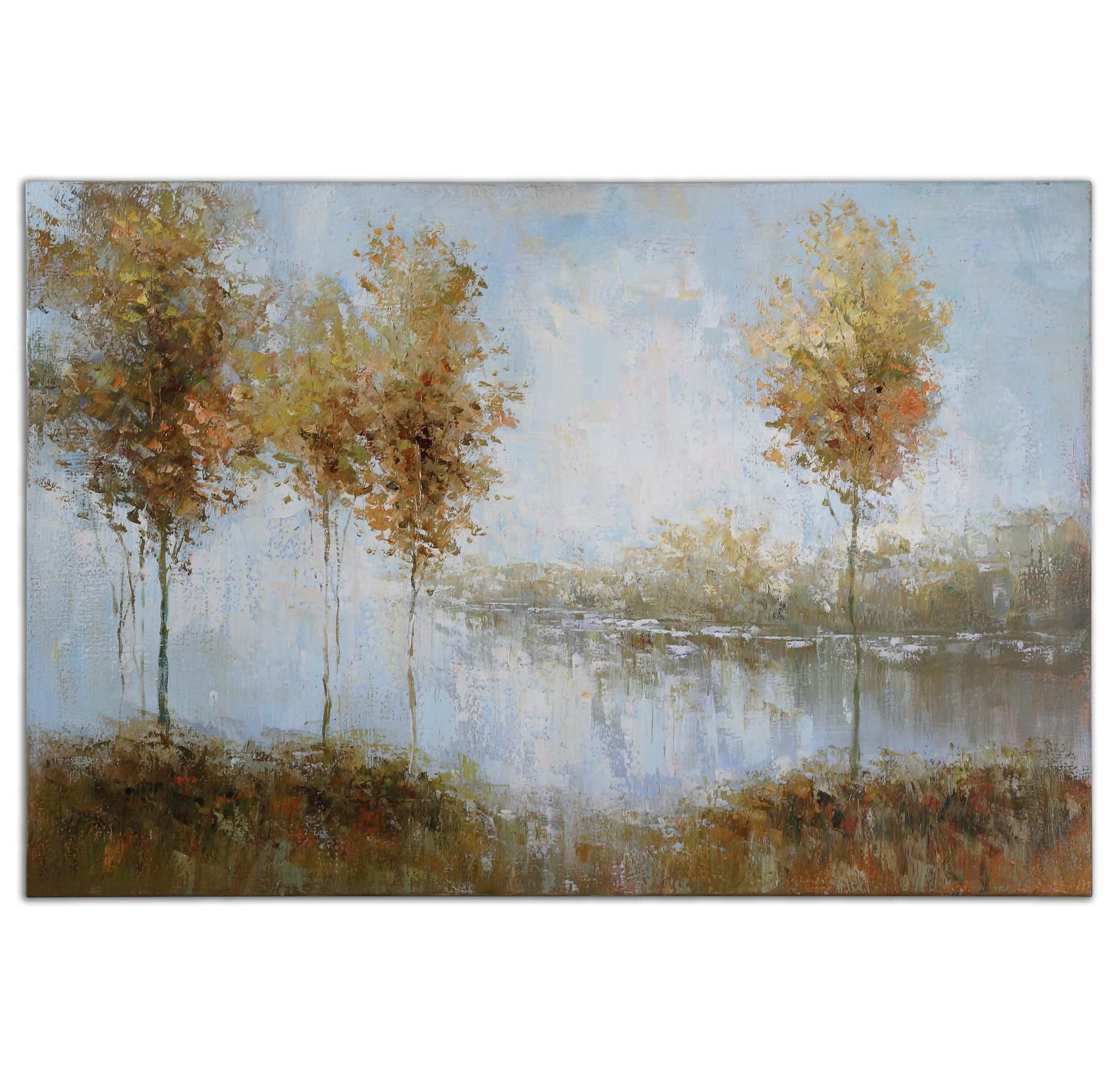 Uttermost 34266 View Of The Lake Art