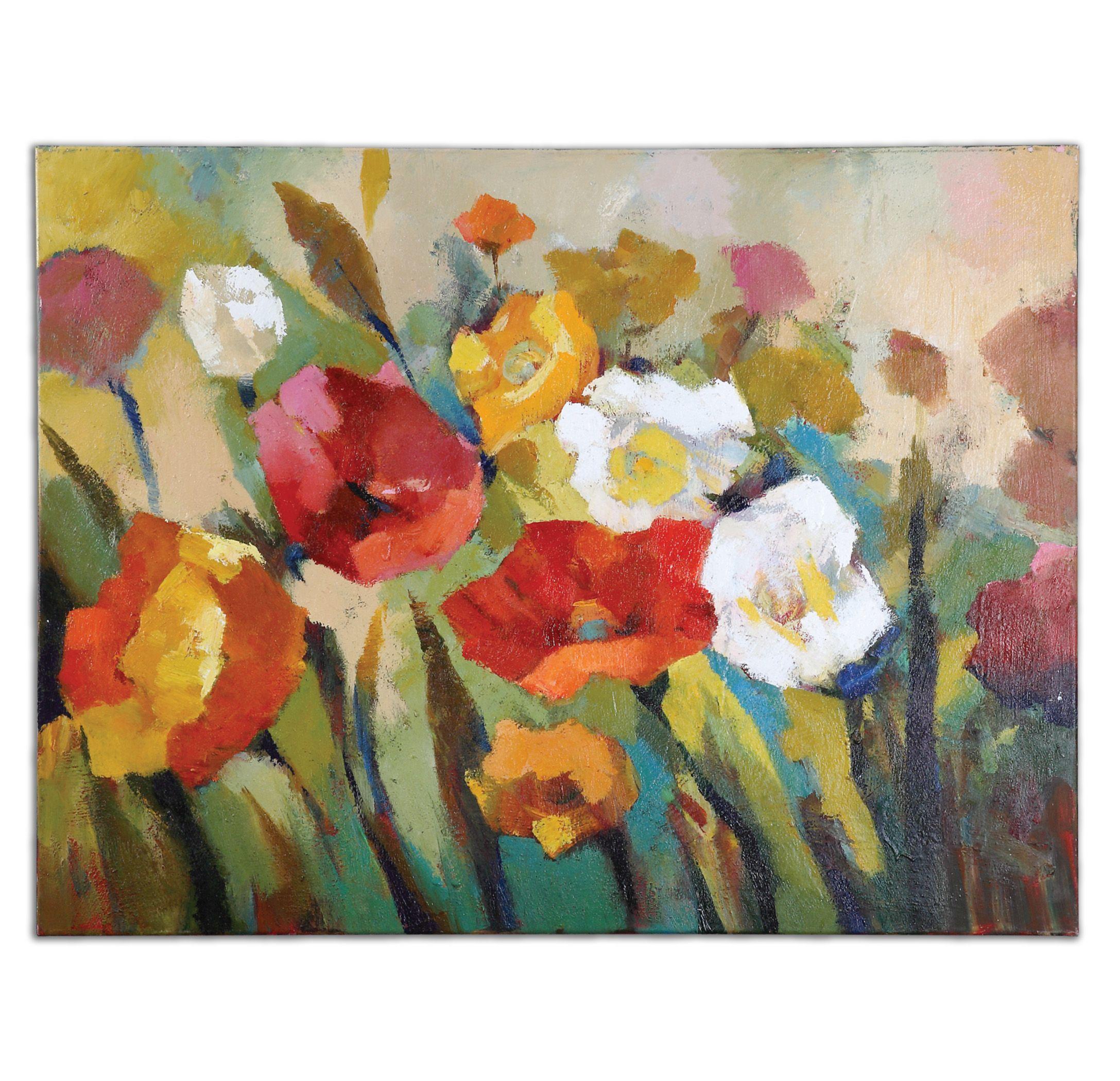Uttermost 34268 Spring Has Sprung Floral Art