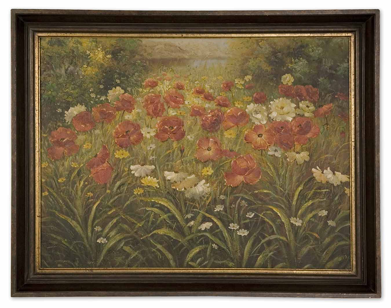 Uttermost 41158 Field Of Wildflowers Floral Art