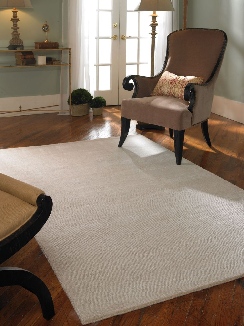 Uttermost 73039 Rhine Rug - Cloud White