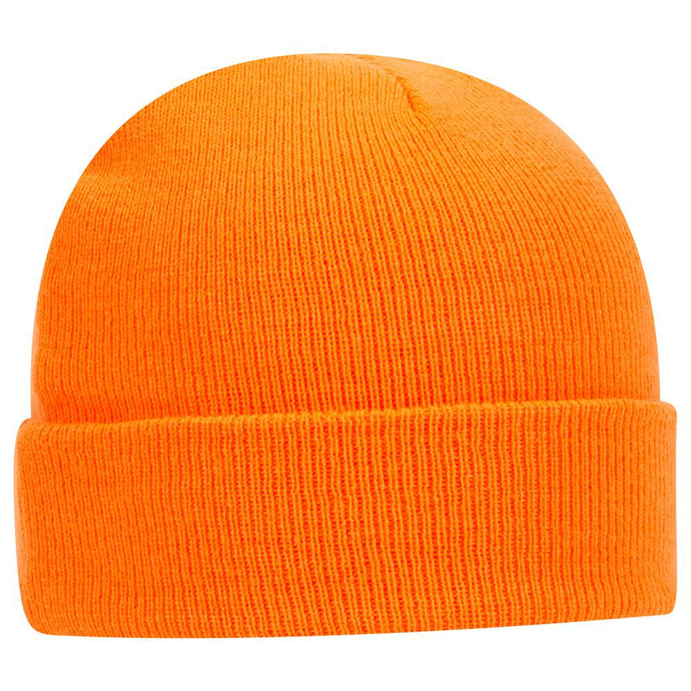 Acrylic knit solid color beanies, 12