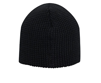 Acrylic knit solid color waffle knit beanies, 8