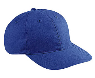 Brushed cotton twill soft visor solid and two tone color six panel low profile pro style caps