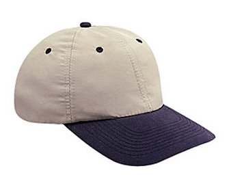 Brushed cotton twill soft visor solid and two tone color ...