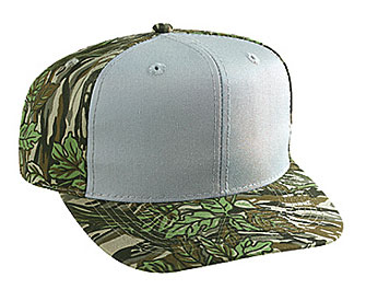 Camouflage cotton twill pro style caps (regular and ...