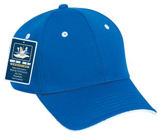 Cool Comfort polyester cool mesh flipped edge visor ...