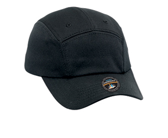 Cool Comfort polyester cool mesh solid color six panel five panel running caps