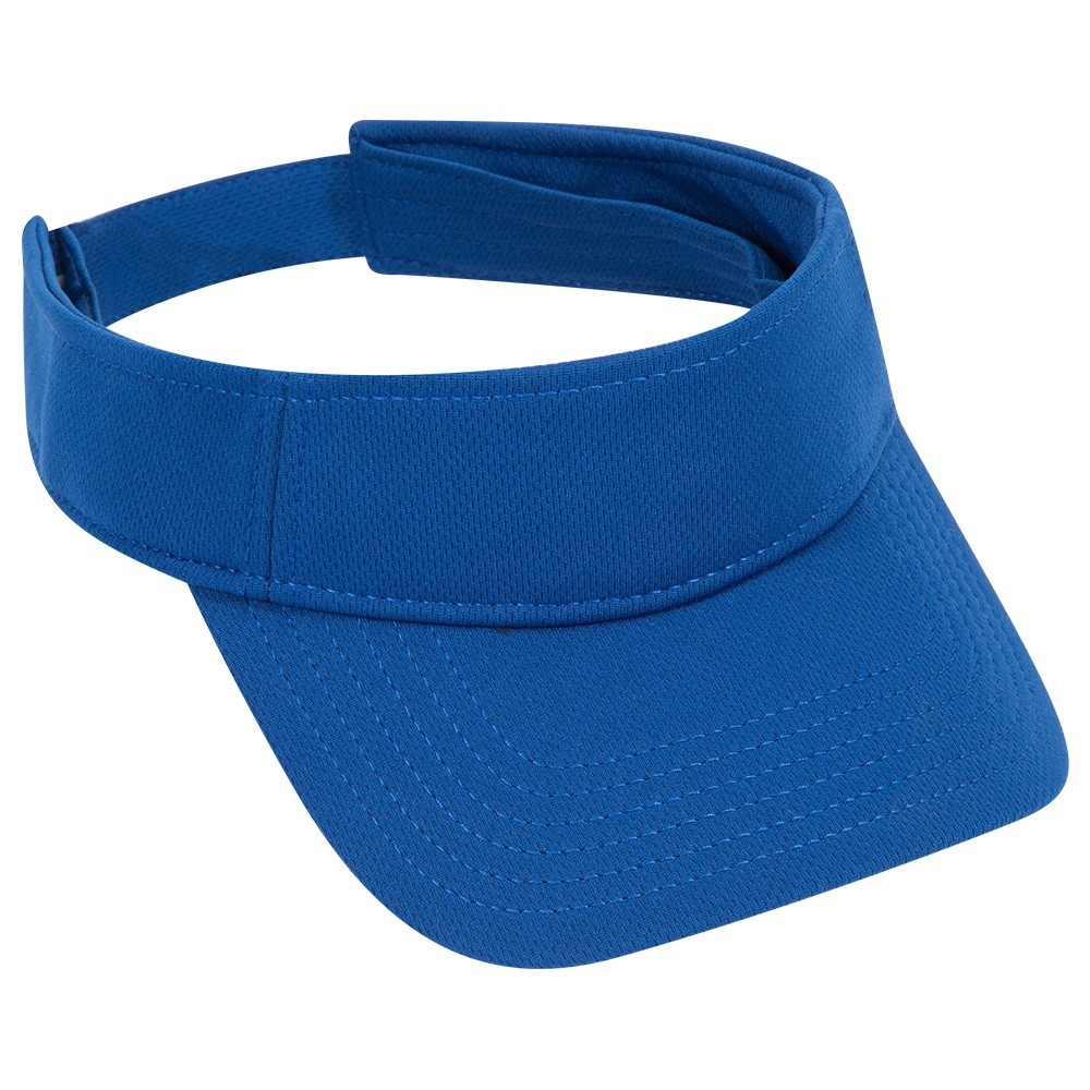 Cool Comfort polyester cool mesh solid color sun visors