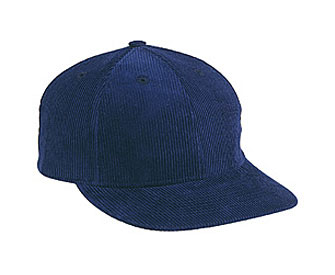 Corduroy solid color six panel low profile pro style cap