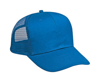 OTTO Cap 30-660 - Cotton Twill 6 Panel Mid Profile Mesh ...