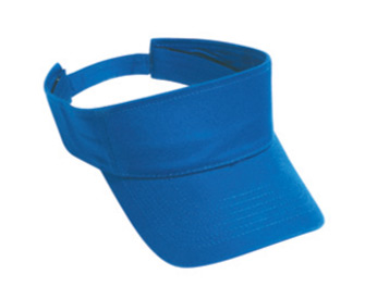 Cotton twill solid color sun visors