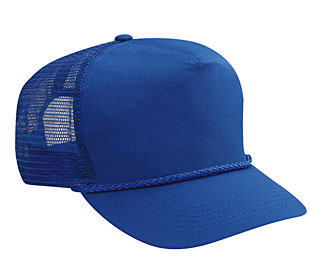 OTTO Cap 39-071 - 5 Panel Cotton Twill Mesh Back Trucker ...